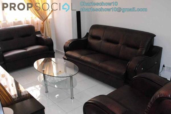 For Rent Condominium at Rhythm Avenue, UEP Subang Jaya Freehold Fully Furnished 3R/2B 1.5k