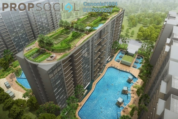 For Sale Condominium at The Havre, Bukit Jalil Freehold Unfurnished 3R/2B 540k