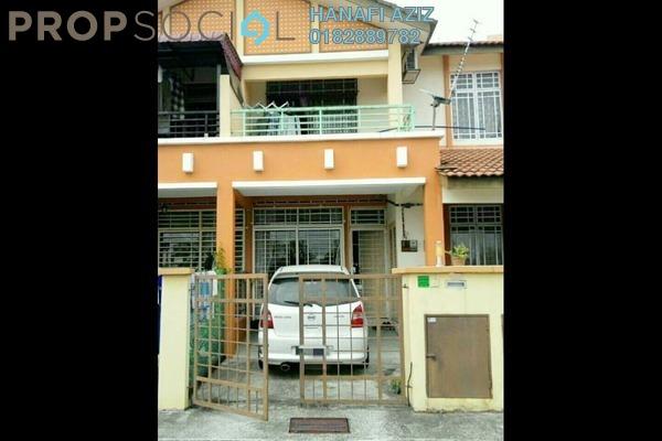 For Sale Townhouse at Bandar Saujana Utama, Sungai Buloh Leasehold Semi Furnished 3R/2B 330k