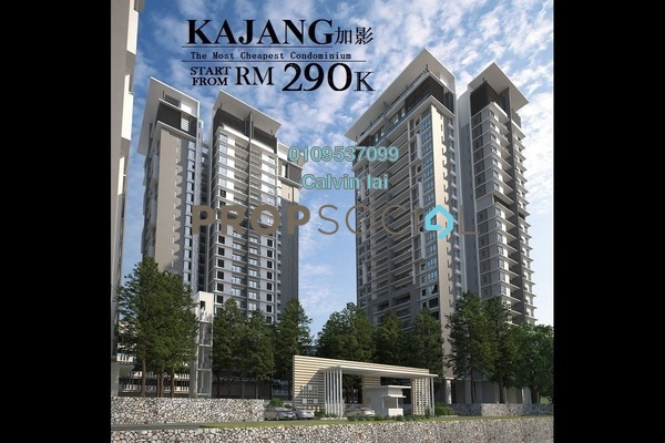 For Sale Condominium at Kajang 2, Kajang Freehold Unfurnished 3R/2B 290k