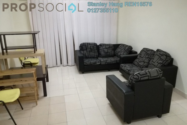 For Rent Condominium at SuriaMas, Bandar Sunway Leasehold Fully Furnished 4R/2B 1.8k