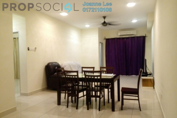 For Rent Condominium at Zenith Residences, Kelana Jaya Leasehold Fully Furnished 3R/2B 2.5k