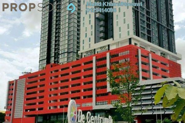 For Rent Serviced Residence at De Centrum City, Kajang Freehold Semi Furnished 0R/2B 1.35k