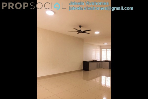 For Rent Terrace at Kota Kemuning Hills, Kota Kemuning Freehold Semi Furnished 4R/3B 1.3k