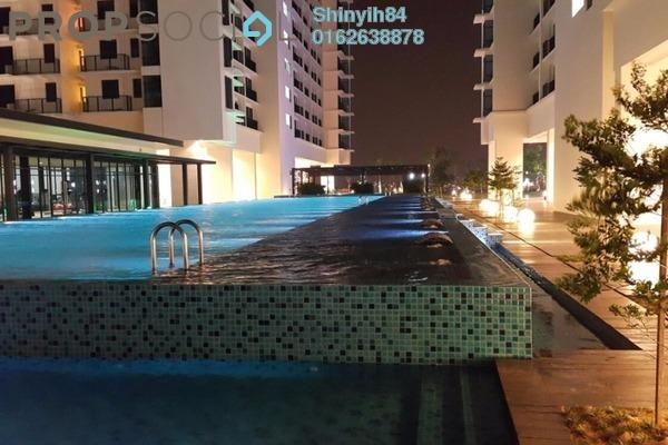 For Sale Condominium at Trefoil, Setia Alam Freehold Semi Furnished 0R/1B 310k
