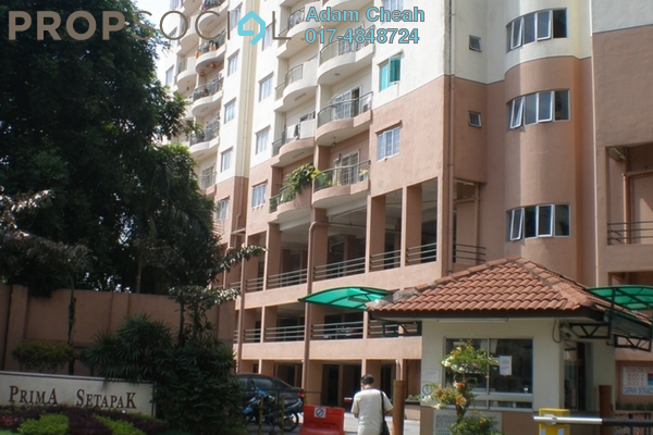 For Sale Condominium at Prima Setapak I, Setapak Leasehold Unfurnished 3R/2B 580k
