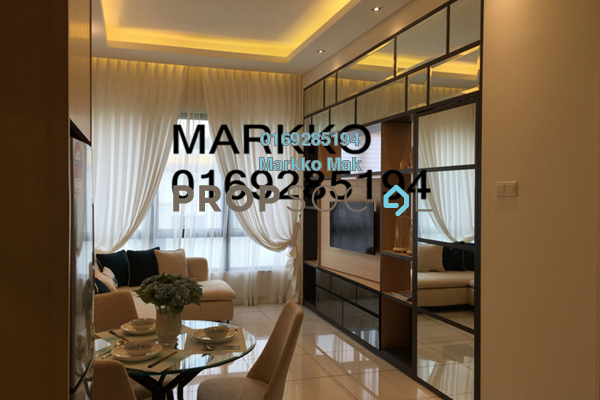 For Sale SoHo/Studio at Kiara Plaza, Semenyih Freehold Semi Furnished 1R/1B 245k