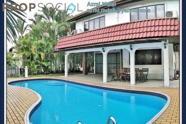 For Sale Bungalow at 10 Semantan, Damansara Heights Leasehold Semi Furnished 6R/5B 4.9m
