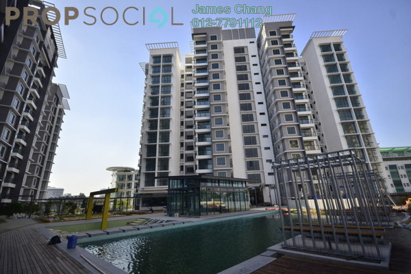 For Rent Condominium at Boulevard Residence, Bandar Utama Leasehold Semi Furnished 3R/2B 2.4k