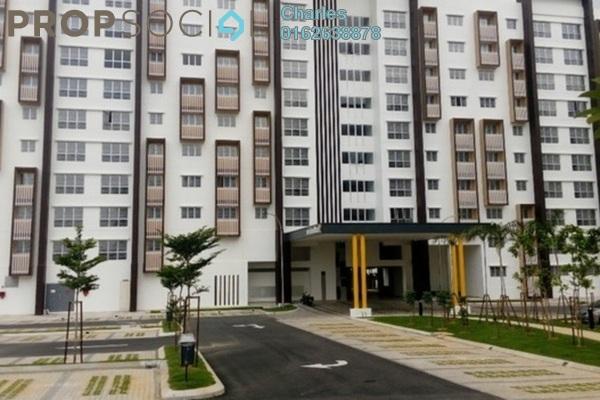 For Rent Condominium at Seri Mutiara, Setia Alam Freehold Semi Furnished 3R/2B 950translationmissing:en.pricing.unit