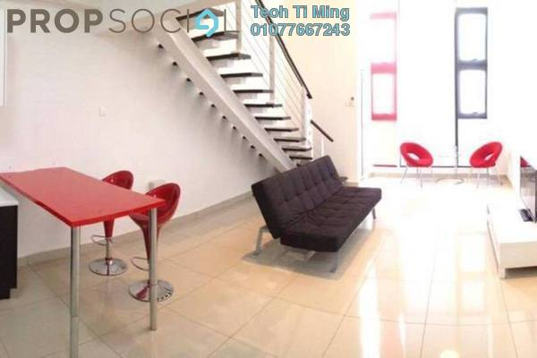 For Rent Condominium at The Scott Soho, Old Klang Road Freehold Fully Furnished 1R/2B 1.9k