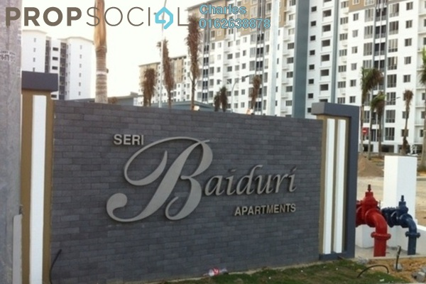 For Rent Condominium at Seri Baiduri, Setia Alam Freehold Semi Furnished 3R/2B 950translationmissing:en.pricing.unit