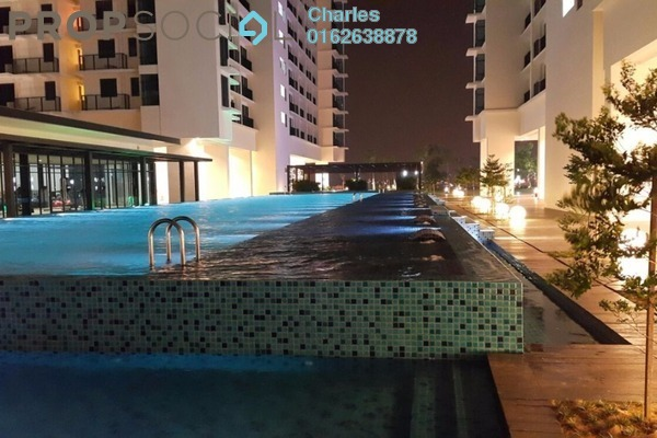 For Rent Condominium at Trefoil, Setia Alam Freehold Semi Furnished 0R/1B 1.2k