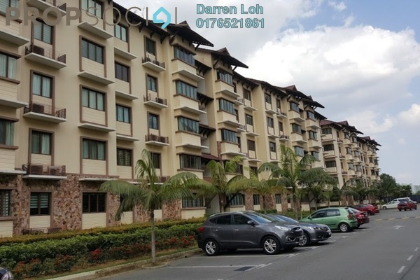 For Sale Condominium at Desa Idaman Residences, Puchong Freehold Semi Furnished 3R/2B 400k