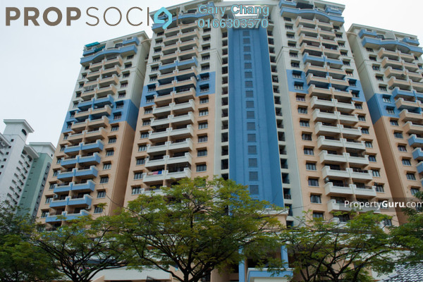 For Rent Condominium at Vista Komanwel, Bukit Jalil Freehold Semi Furnished 5R/3B 2.2k