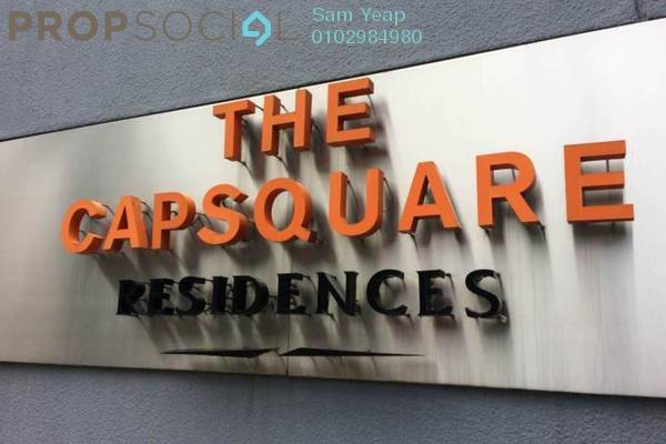 For Rent Condominium at The CapSquare Residences, Dang Wangi Freehold Fully Furnished 2R/2B 3.5k