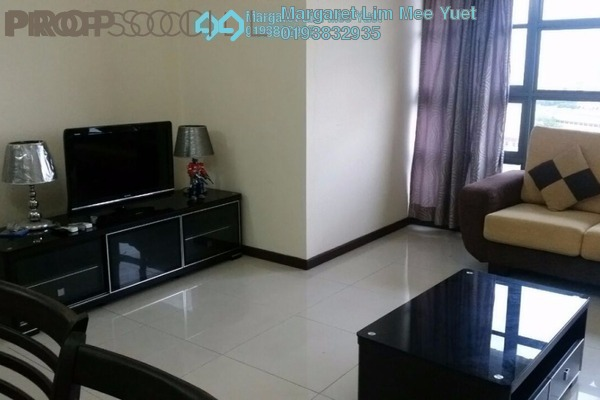 For Rent Condominium at Saujana Residency, Subang Jaya Freehold Semi Furnished 2R/2B 3.2k