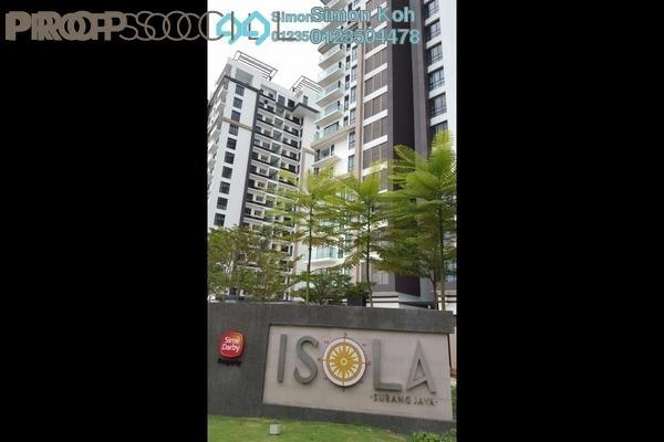 For Sale Condominium at Isola, Subang Jaya Freehold Semi Furnished 3R/2B 1.45m