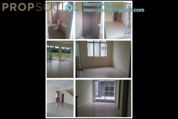 For Rent Semi-Detached at Desa Saujana 2, Bandar Saujana Putra Freehold Semi Furnished 4R/3B 1.3k