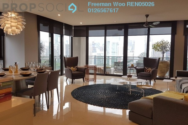 For Sale Condominium at 6 CapSquare, Dang Wangi Freehold Fully Furnished 3R/3B 3.2m
