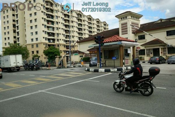 For Rent Apartment at Perdana Apartment, Shah Alam Leasehold Semi Furnished 3R/2B 1.1k