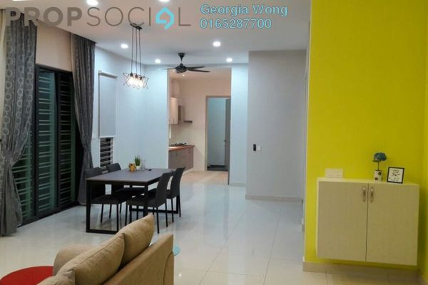 For Sale Semi-Detached at Periwinkle, Bandar Rimbayu Leasehold Fully Furnished 4R/4B 950k
