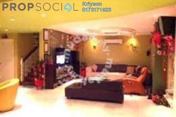 For Rent Terrace at Taman Melawati, Melawati Leasehold Semi Furnished 4R/2B 1.8k