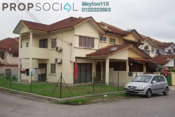 For Sale Terrace at Taman Cheras Prima, Kajang Freehold Semi Furnished 4R/3B 450k