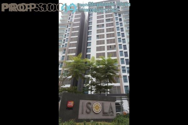 For Sale Condominium at Isola, Subang Jaya Freehold Semi Furnished 2R/2B 880k