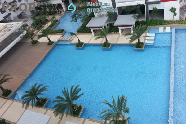 For Rent Condominium at Main Place Residence, UEP Subang Jaya Freehold Fully Furnished 3R/2B 2.4k