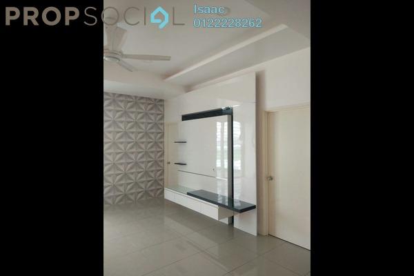 For Rent Condominium at Mahkota Garden Condominium, Bandar Mahkota Cheras Freehold Semi Furnished 4R/3B 1.5k