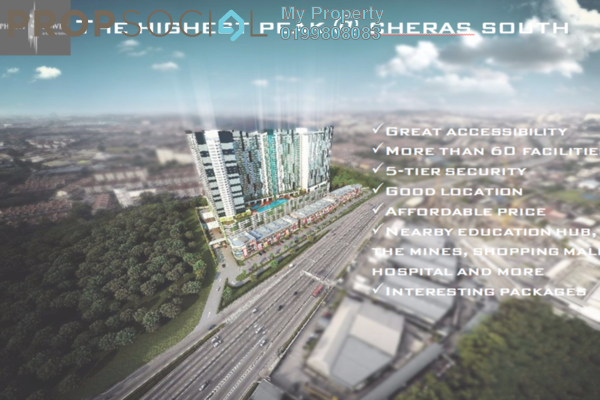 For Sale SoHo/Studio at Symphony Tower, Balakong Freehold Fully Furnished 1R/1B 300k