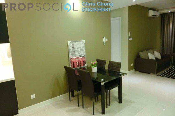 For Rent Condominium at Scenaria, Segambut Freehold Fully Furnished 3R/2B 2.35k