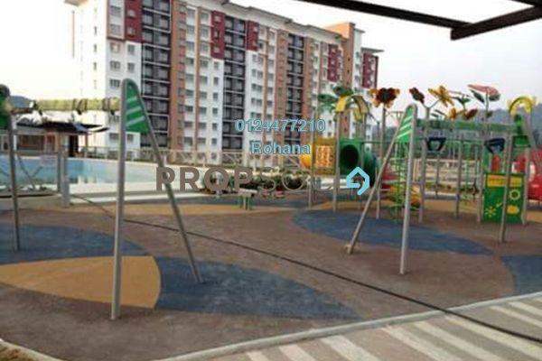 For Sale Apartment at Alam Nusantara, Setia Alam Freehold Unfurnished 3R/3B 300k
