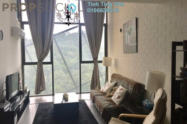 For Rent SoHo/Studio at Empire Damansara, Damansara Perdana Leasehold Fully Furnished 0R/2B 1.7k