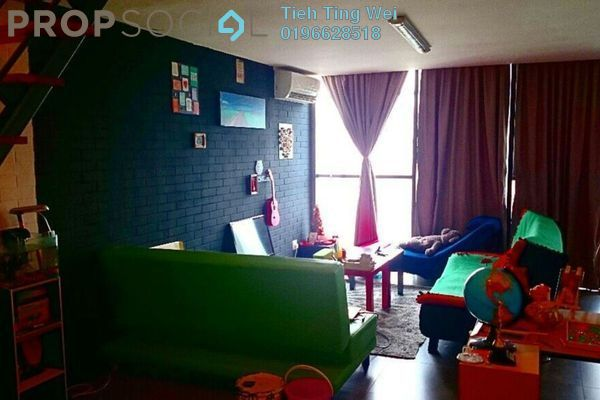 For Rent SoHo/Studio at Empire Damansara, Damansara Perdana Leasehold Fully Furnished 0R/2B 1.5k