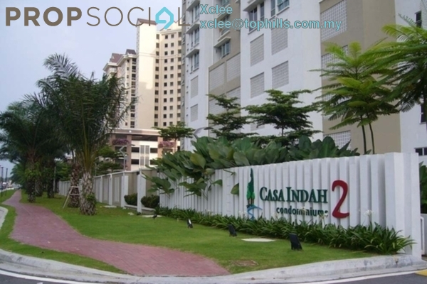 For Rent Condominium at Casa Indah 2, Tropicana Leasehold Fully Furnished 2R/3B 2k