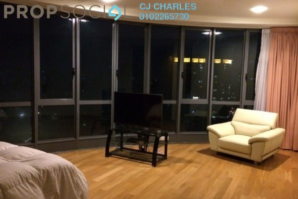 For Rent Serviced Residence at Soho Suites, KLCC Freehold Semi Furnished 2R/2B 3.6k