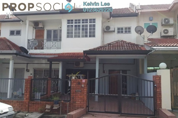 For Sale Terrace at Mahkota Walk, Bandar Mahkota Cheras Freehold Semi Furnished 4R/3B 550k