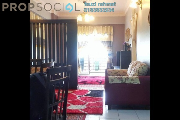 For Sale Condominium at Langat Jaya, Batu 9 Cheras Freehold Unfurnished 3R/2B 285k