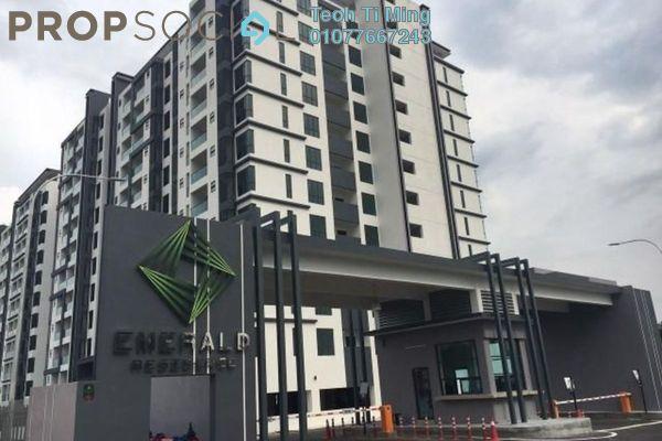 For Sale Condominium at Emerald Residence, Bandar Mahkota Cheras Freehold Unfurnished 3R/2B 540k