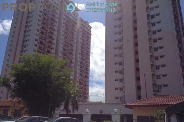 For Sale Condominium at Langat Jaya, Batu 9 Cheras Freehold Semi Furnished 3R/2B 295k