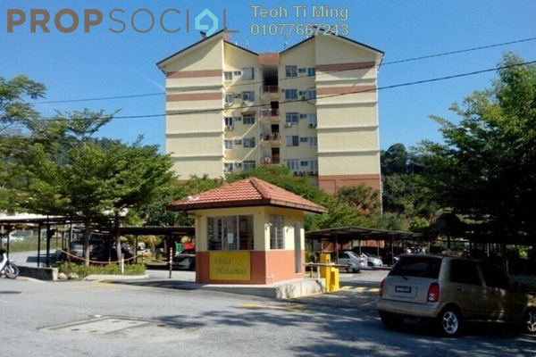 For Sale Condominium at Vista Hatamas, Cheras Freehold Semi Furnished 3R/2B 310k