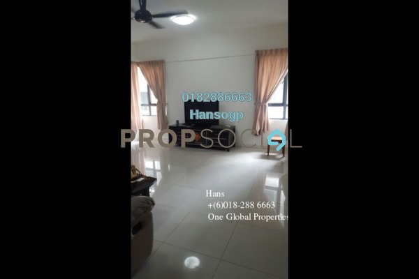 For Rent Condominium at Ameera Residences, Petaling Jaya Freehold Semi Furnished 3R/3B 3.4k