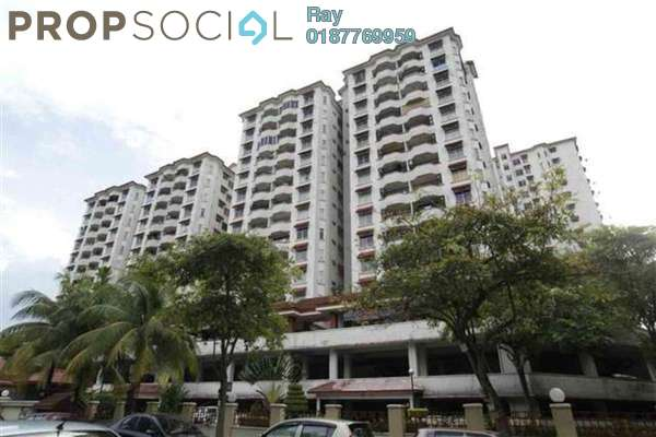 For Sale Condominium at Bukit OUG Condominium, Bukit Jalil Freehold Semi Furnished 3R/2B 410k
