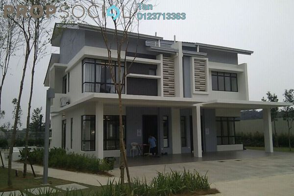 For Sale Terrace at Alpine @ M Residence 2, Rawang Leasehold Unfurnished 4R/3B 518k