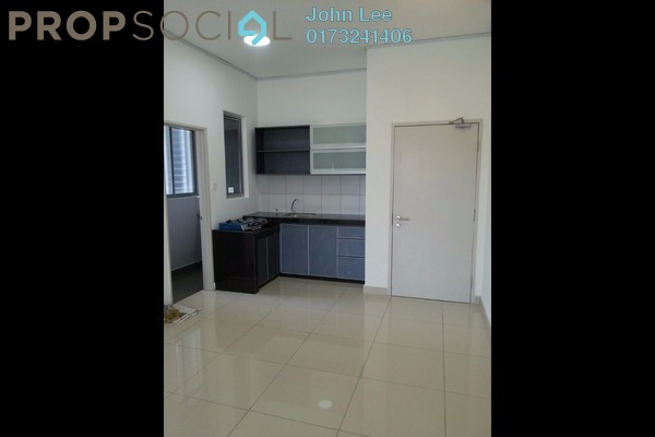 For Rent Condominium at The Parc Tower, Setapak Leasehold Semi Furnished 3R/2B 1.6k