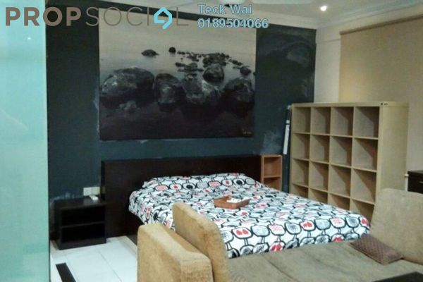 For Rent SoHo/Studio at Ritze Perdana 1, Damansara Perdana Leasehold Fully Furnished 0R/1B 1.35k