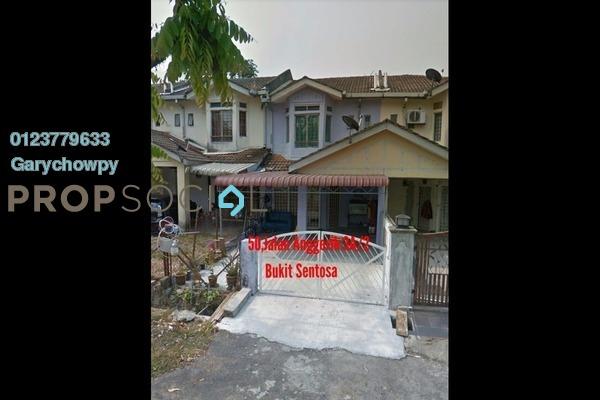 For Sale Terrace at Bukit Sentosa 1, Bukit Beruntung Freehold Semi Furnished 3R/3B 135k