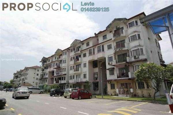 For Rent Condominium at Kenari Court, Pandan Indah Leasehold Fully Furnished 3R/2B 1.2k